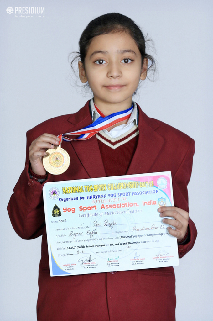 Achievement - NATIONAL YOGA CHAMPION