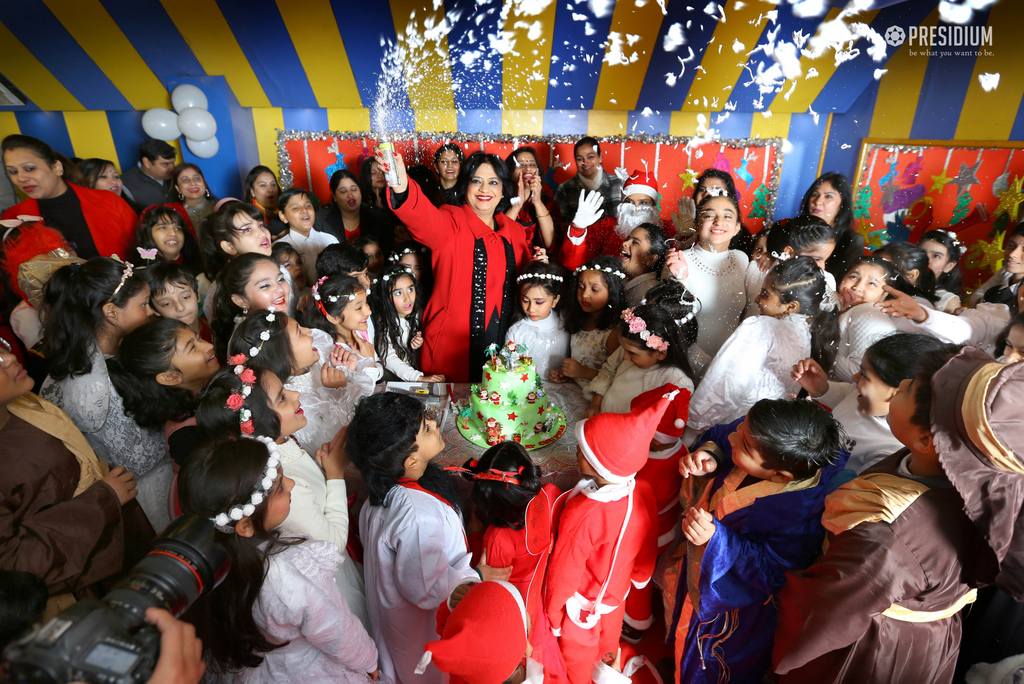 CHRISTMAS WITH SUDHA MA'AM