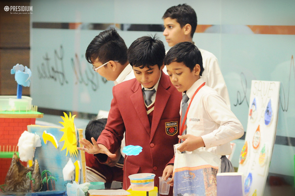 SCIENCE EXHIBITION: PRESIDIANS SHOWCASE THE IMPORTANCE OF WATER