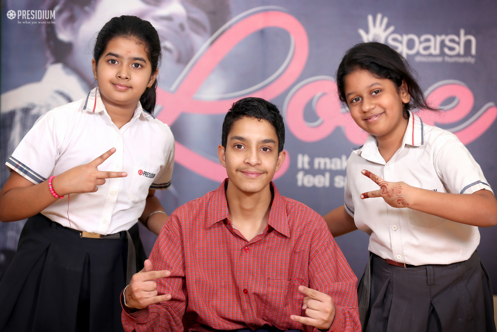 SPECIAL CHILDREN OF SPARSH