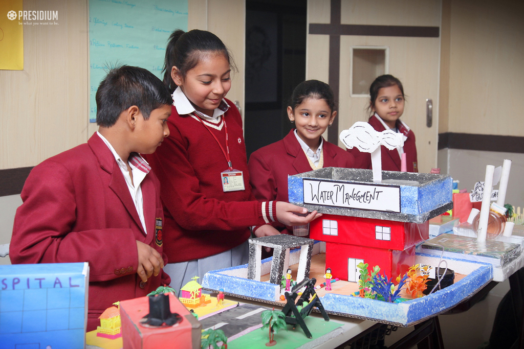 SCIENCE WEEK: YOUNG MINDS ON A TRIP TO THE WORLD OF KNOWLEDGE