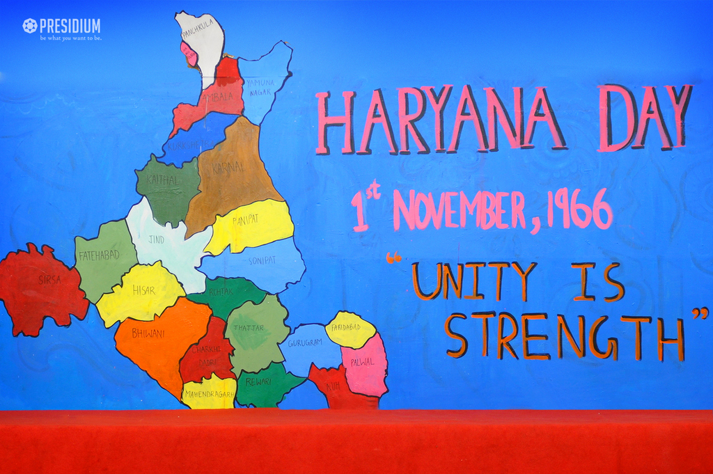 UNITY DAY AND HARYANA DAY