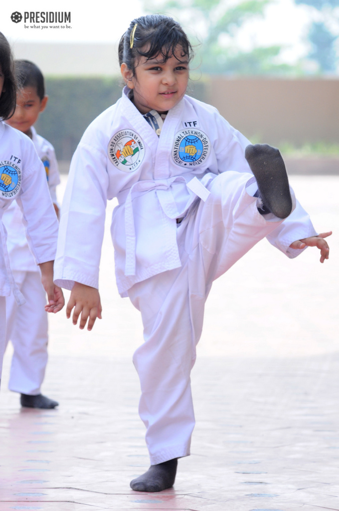 TAEKWONDO CONTEST WITNESSES HIGH ENERGY OF YOUNG CHAMPS