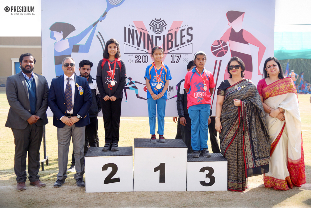 SPORTS DAY PRIZE DISTRIBUTION: REWARDING OUR YOUNG ACHIEVERS