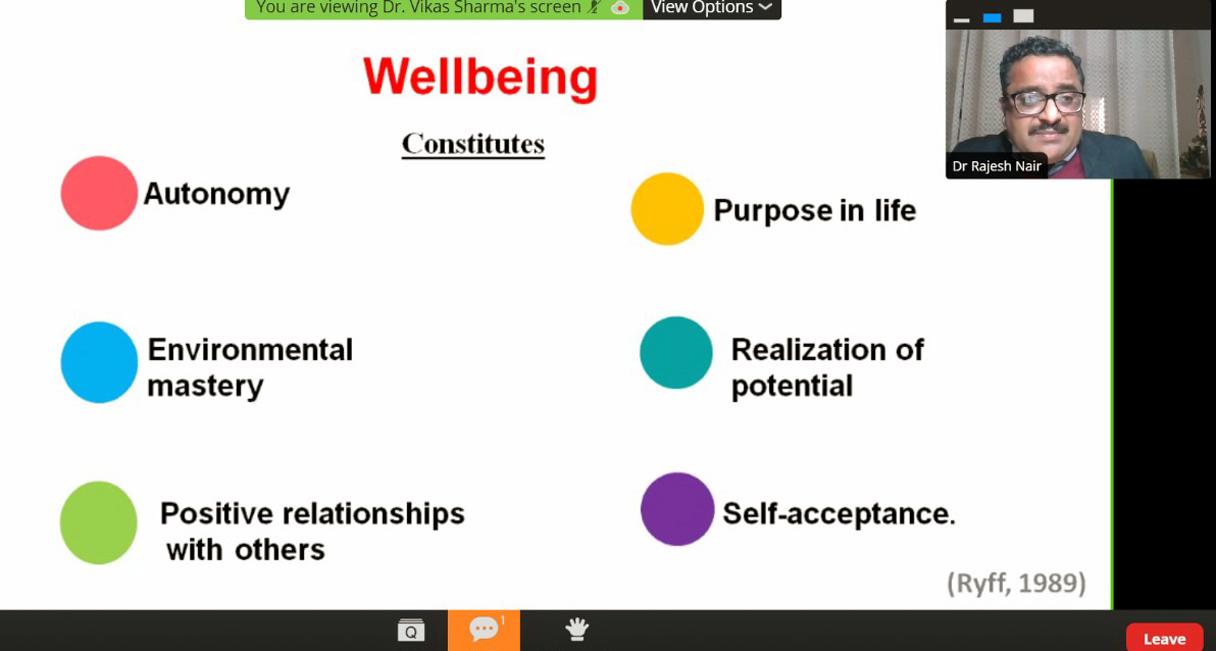 HEALTH WORKSHOP FOR TEACHERS 2021