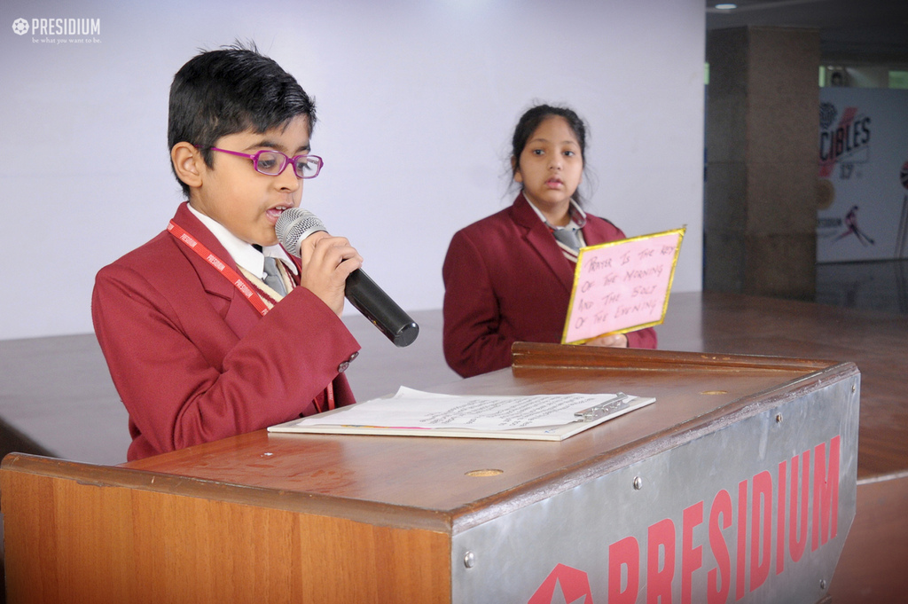 Special Assembly on World Leprosy Day