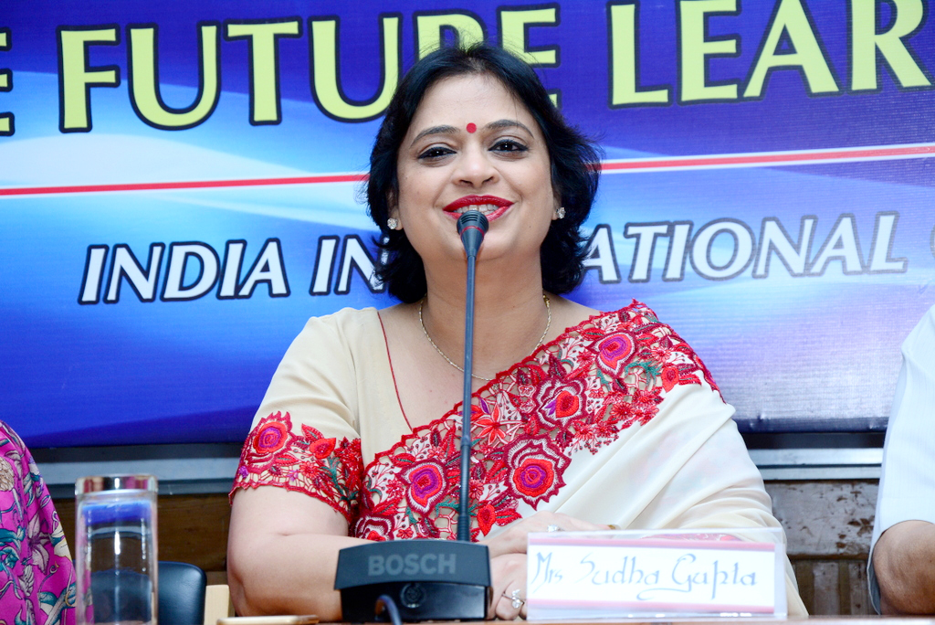 CHAIRPERSON MAKES AN IMPRESSION AT ALL INDIA LEADERSHIP WORKSHOP
