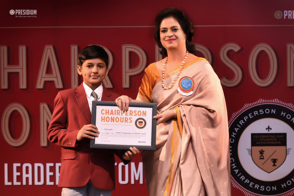 CHAIRPERSON HONORS CEREMONY 2018
