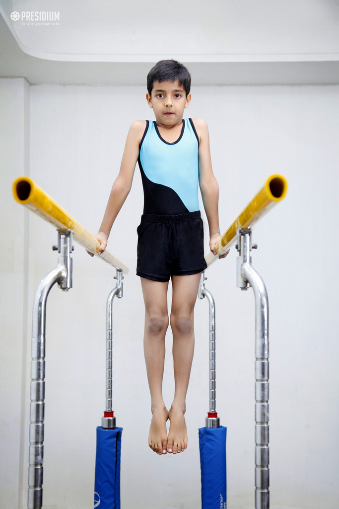 BUDDING GYMNASTS SHINE AT CBSE SPORTS & GAMES COMPETITION