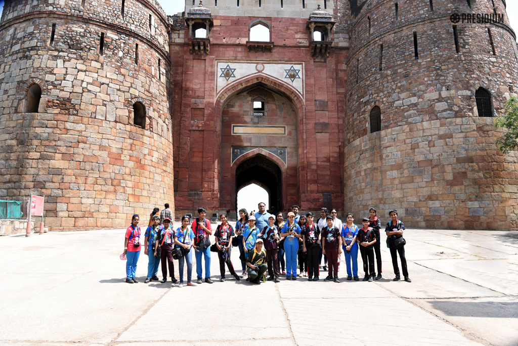 ACE PHOTOGRAPHERS OF PRESIDIUM CAPTURE MAGIC AT THE PURANA QUILA