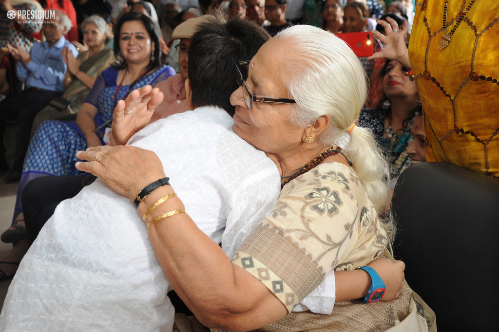 PRESIDIANS EXPRESS LOVE & GRATITUDE FOR THEIR LOVING GRANDPARENTS