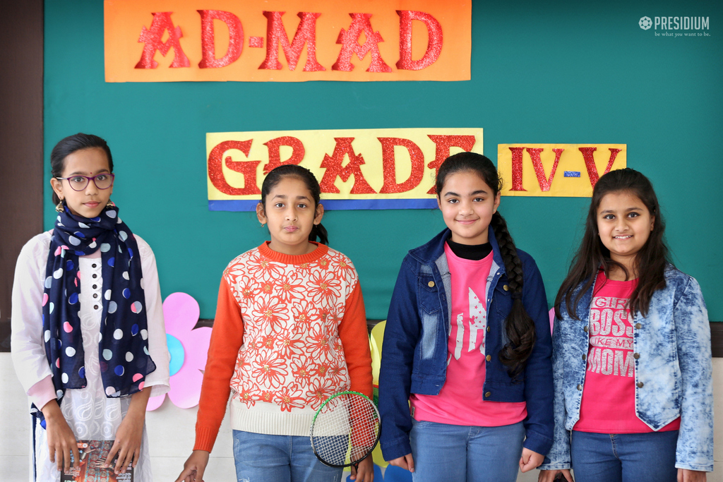 Inter-Class Club AD MAD competition(Grade 4 & 5) 17th Dec