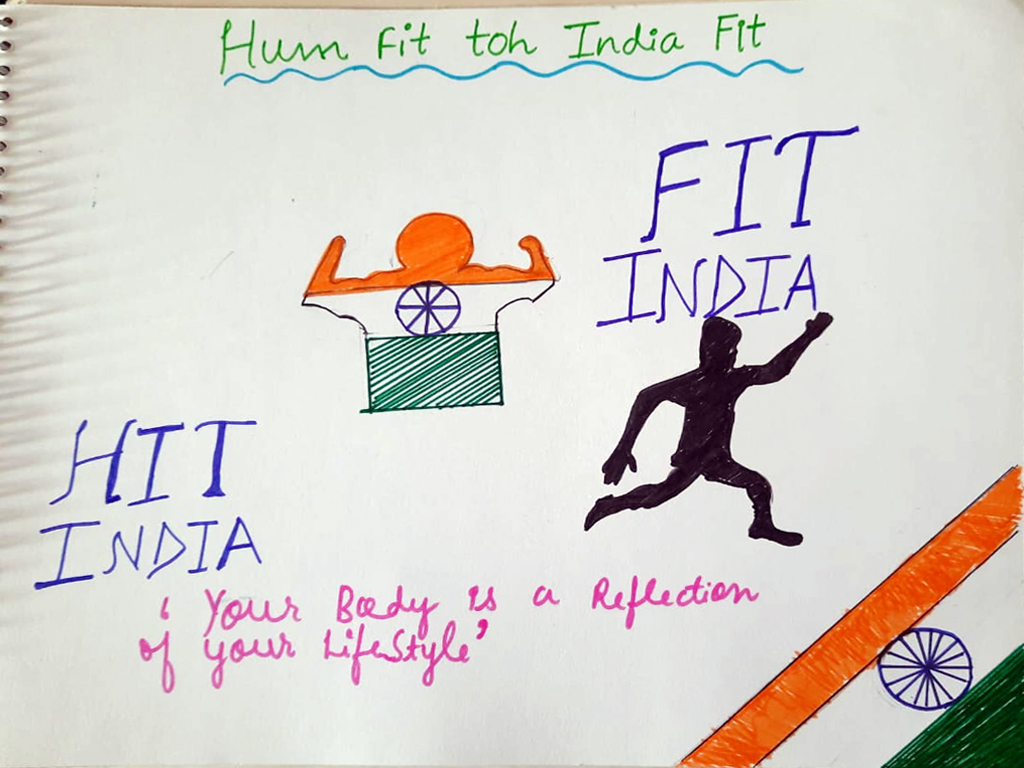 FIT INDIA MOVEMENT WITH ENTHUSIASM 2020