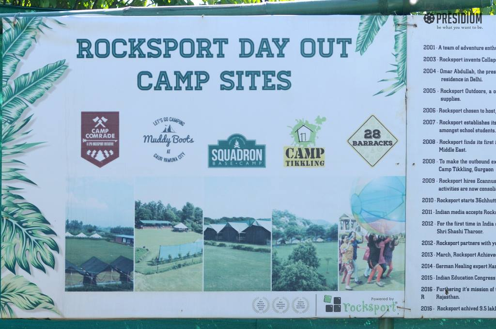 PRESIDIANS ENJOY A FUN 'N' FROLIC DAY AT ROCKSPORT ADVENTURE CAMP