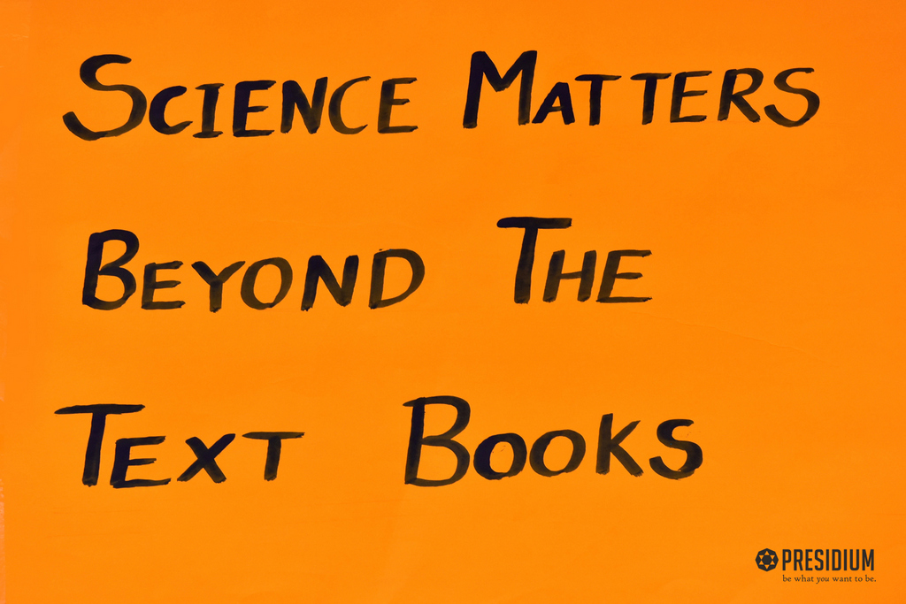 SPECIAL ASSEMBLY: SCIENCE MATTER BEYOND TEXTBOOKS 2019