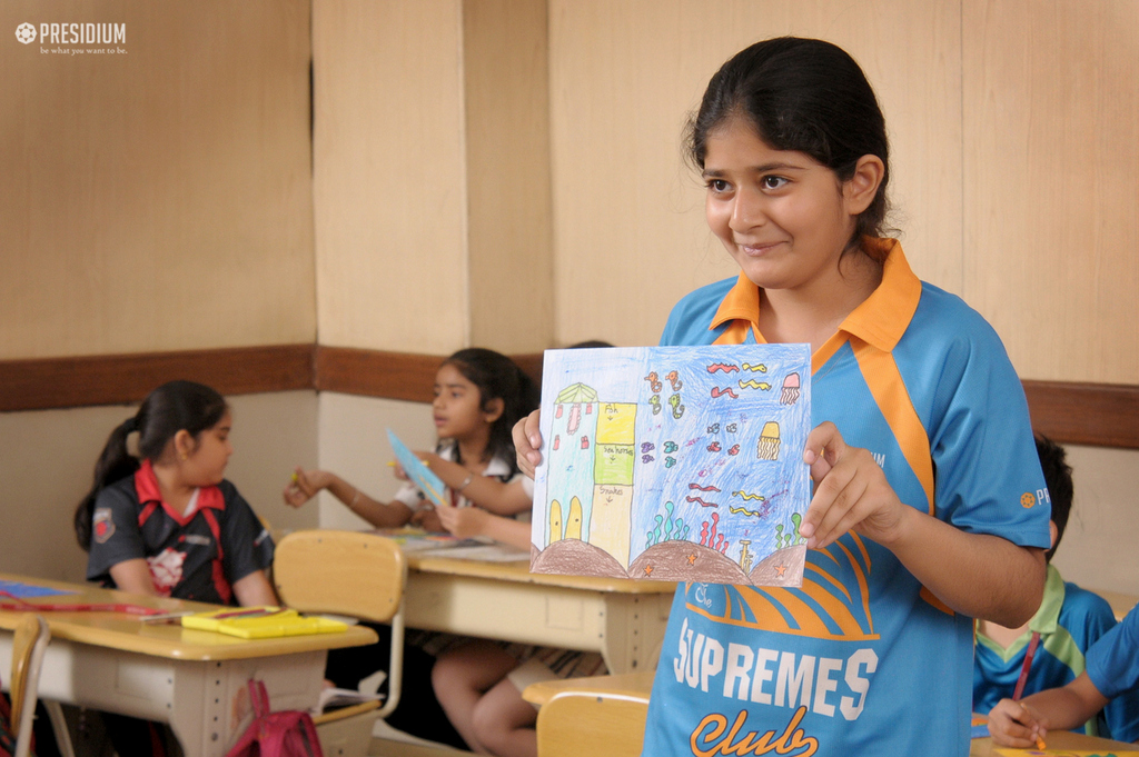 DRAWING & COLOURING CONTEST BRINGS OUT ARTISTIC SIDE OF STUDENTS