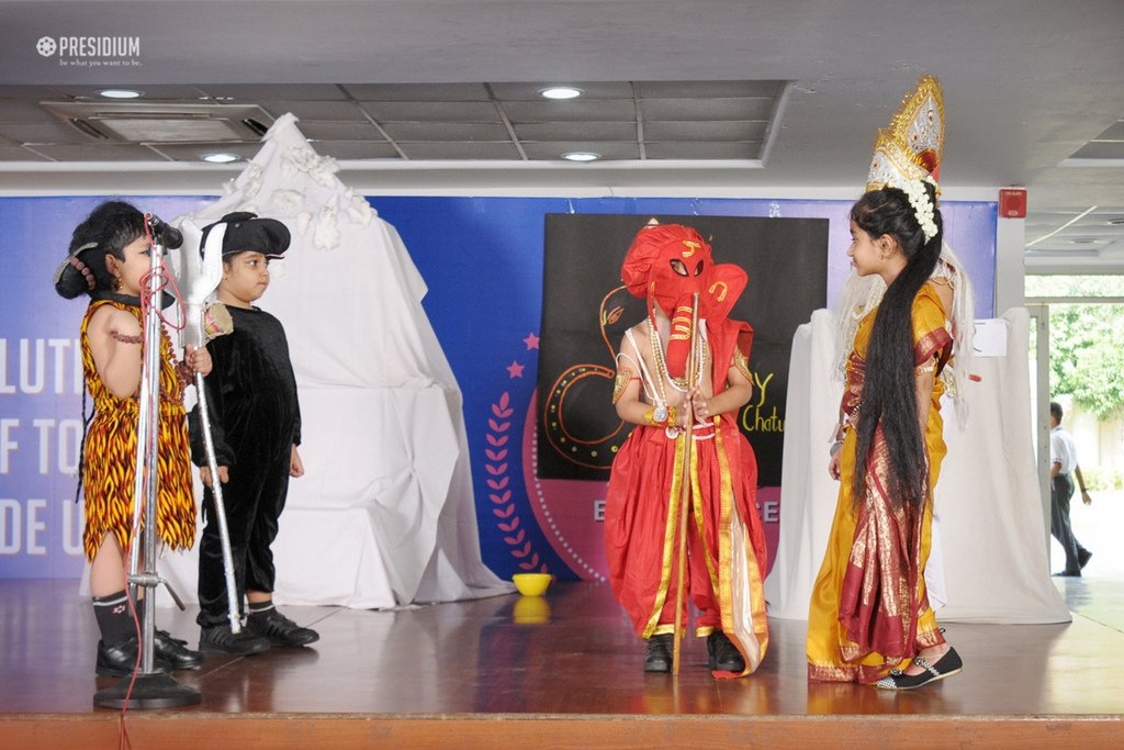Presidium School, GANESH CHATURTHI, GANESH CHATURTHI CELEBRATIONS