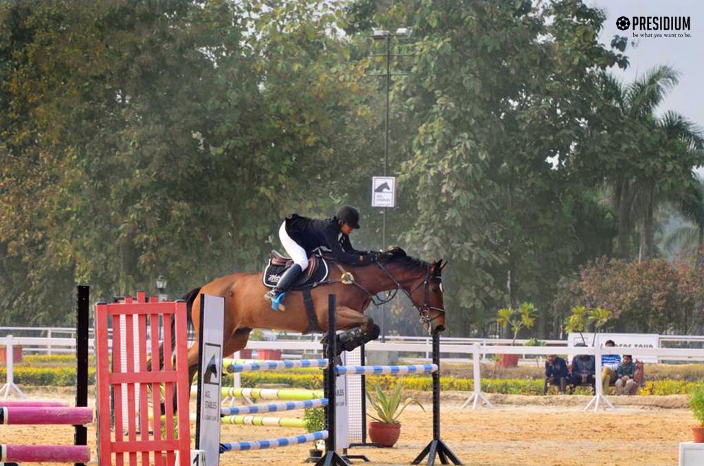 Horse riding achievement 2019