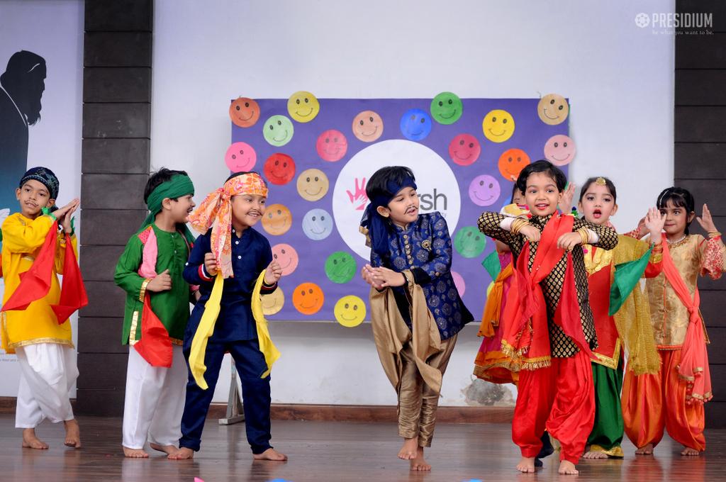 SPECIAL CHILDREN OF SPARSH THANK THEIR KIND FRIENDS AT PRESIDIUM