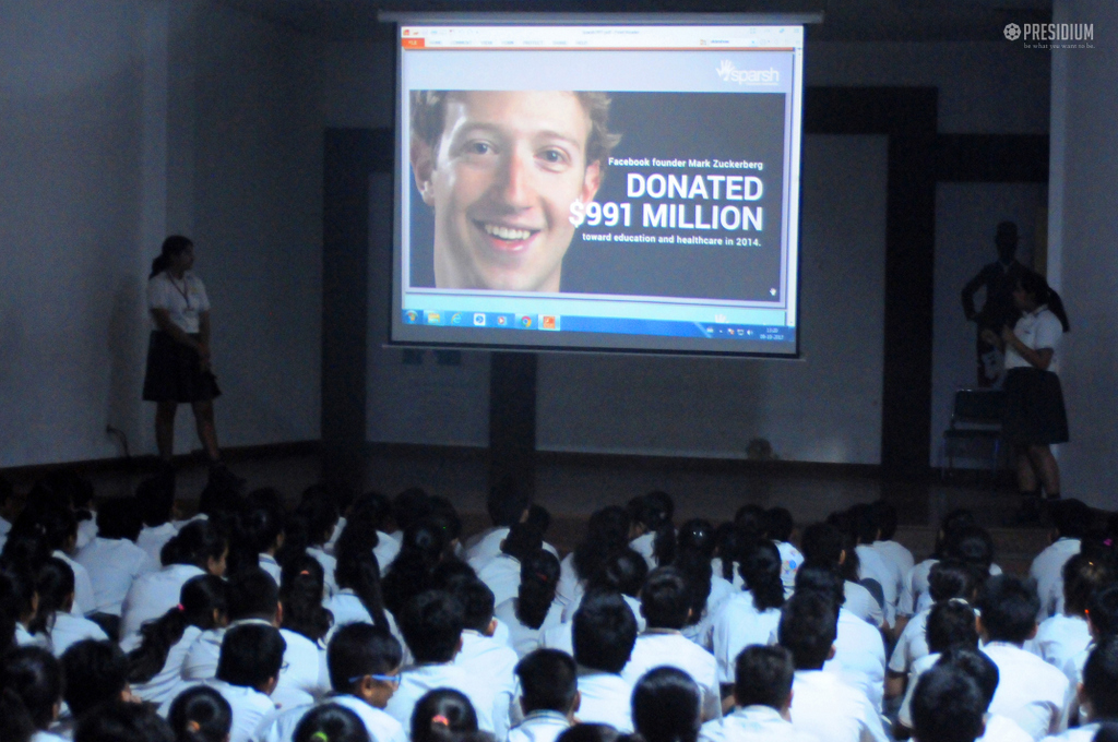 SPARSH SPECIAL CHILDREN INSPIRE PRESIDIANS WITH LOVE & KINDNESS