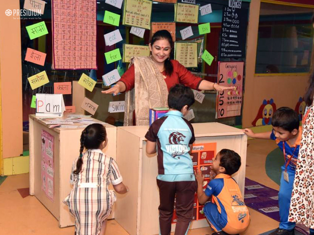 LITTLE STUDENTS RE-EXPLORE ACADEMIC CONCEPTS WITH FUN ACTIVITIES