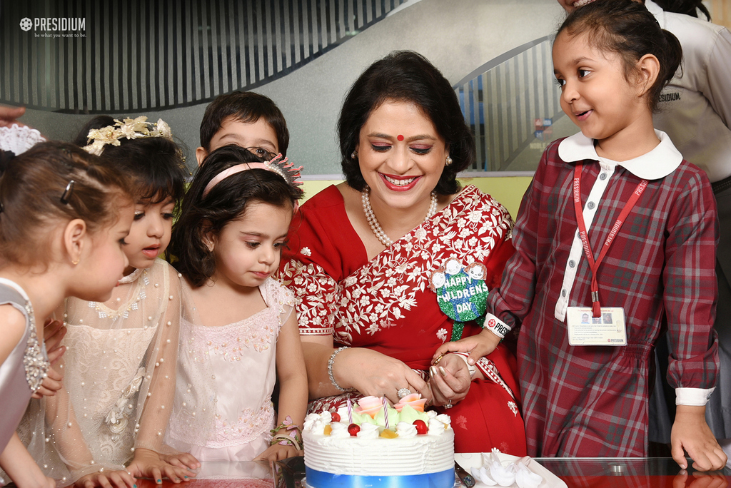 CHERISHABLE CHILDREN'S DAY CELEBRATION WITH THE CHAIRPERSON