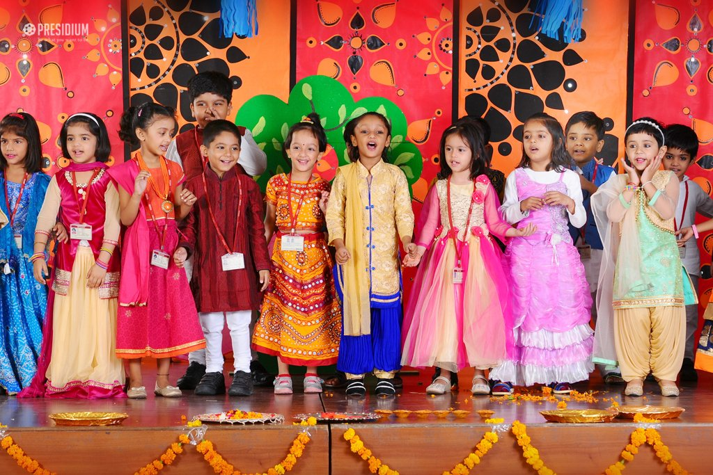 PRESIDIANS CONDUCT A JOYFUL ASSEMBLY ON THE FESTIVAL OF DIWALI
