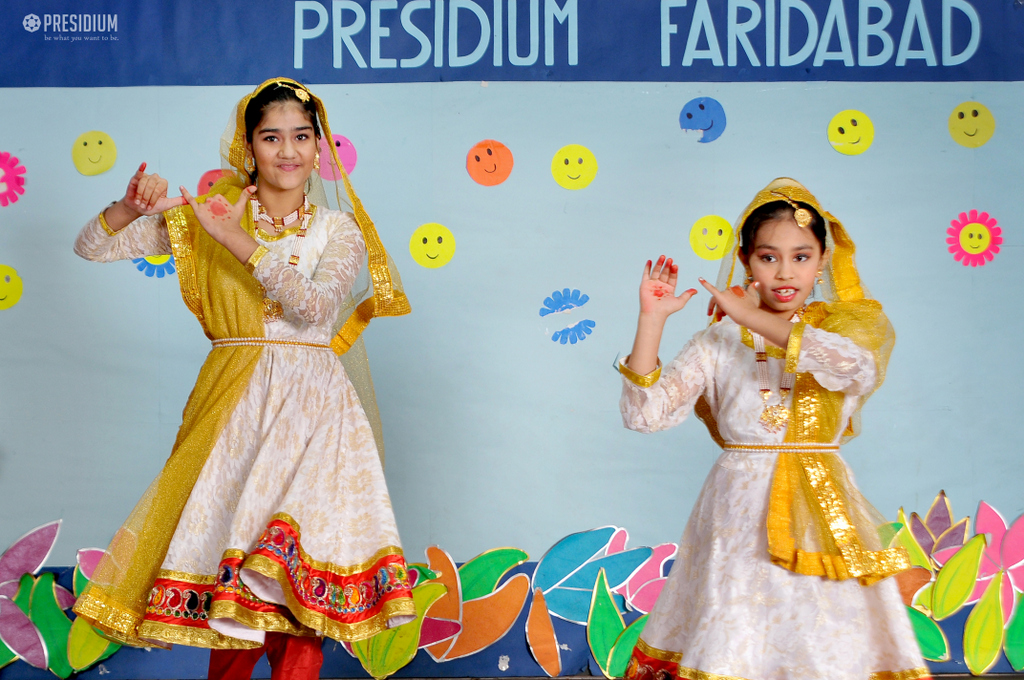 PRESIDIUM FARIDABAD WELCOMES THE SPARSH FAMILY WITH OPEN ARMS