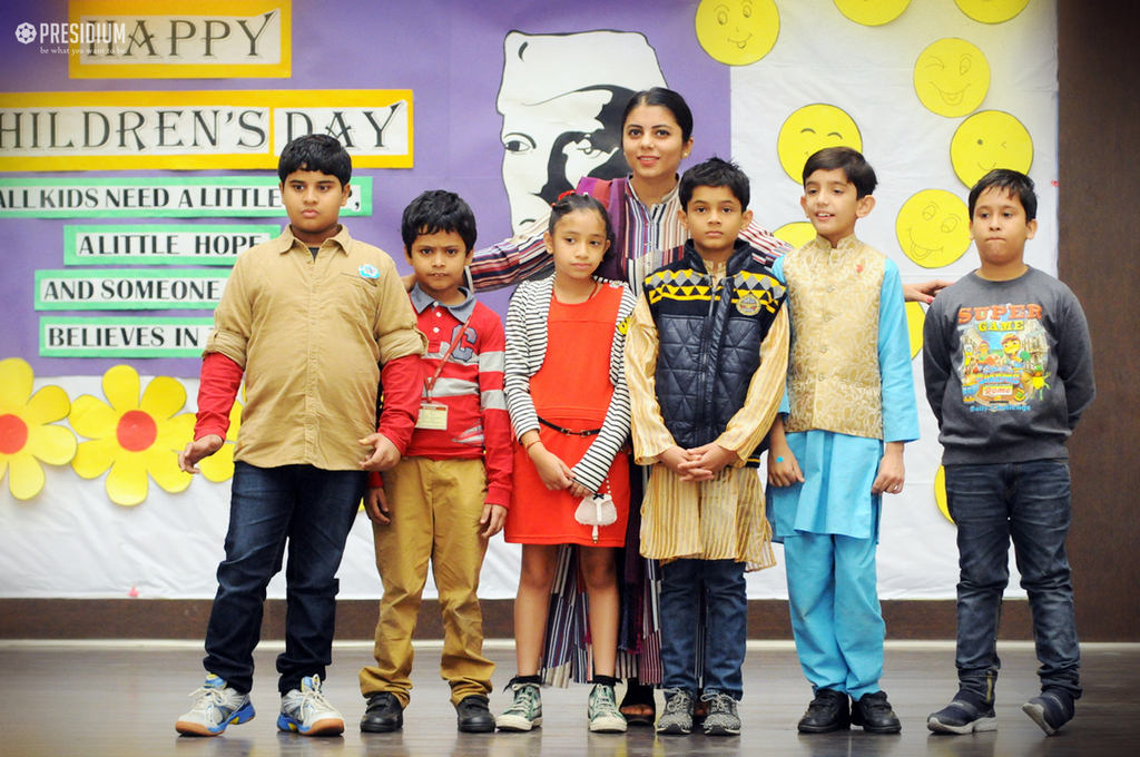 MEMORABLE & JOVIAL CHILDREN'S DAY CELEBRATIONS AT PRESIDIUM