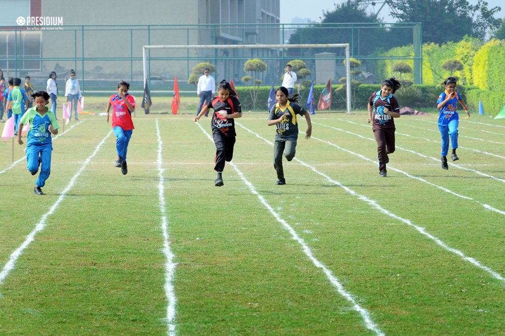 SPORTS DAY - ENTHUSIA 2017:PRESIDIANS PUT THEIR BEST FOOT FORWARD