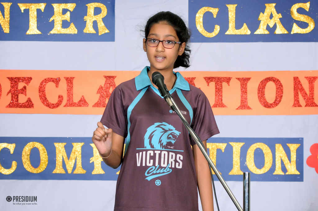 Inter-Class Declamation Competition