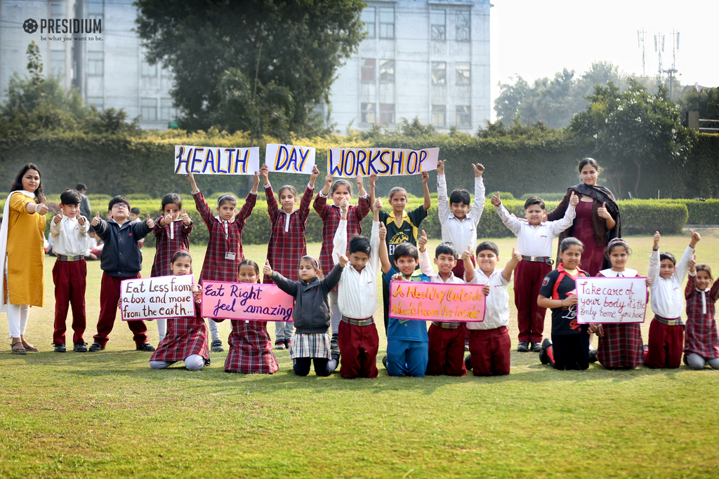 HEALTH WORKSHOP DELIVERS A STRONG MESSAGE TO LEAD HEALTHY LIVING