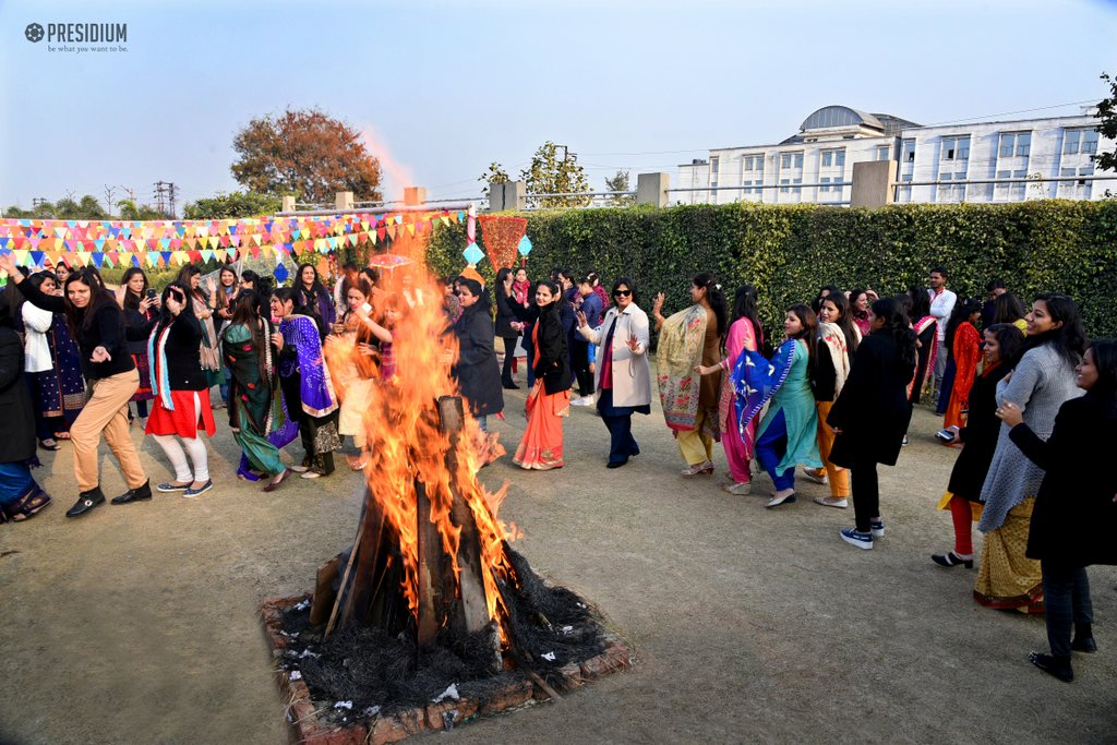 Lohri celebration 2018 SUDHA MA'AM