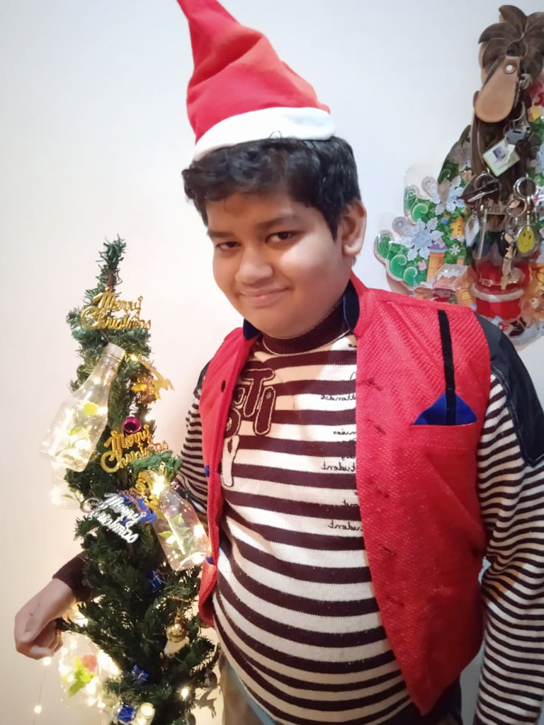 CHRISTMAS WITH GREAT ENTHUSIASM