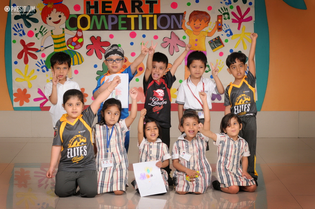 PRESIDIANS POUR THEIR HEARTS OUT IN 'ART FROM HEART' COMPETITION