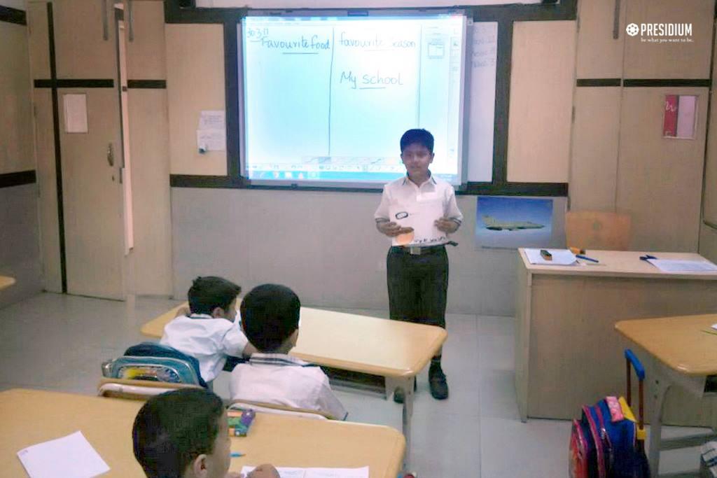 Thepresidium School, WELCOME ACTIVITY OF EVS - GRADE 3