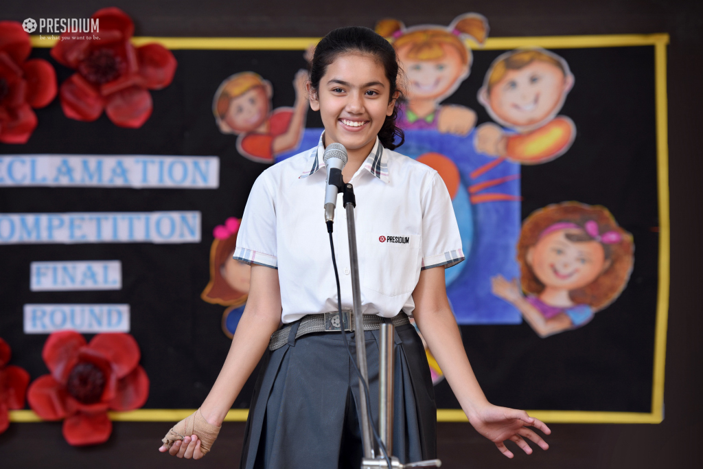DECLAMATION COMPETITION 2019