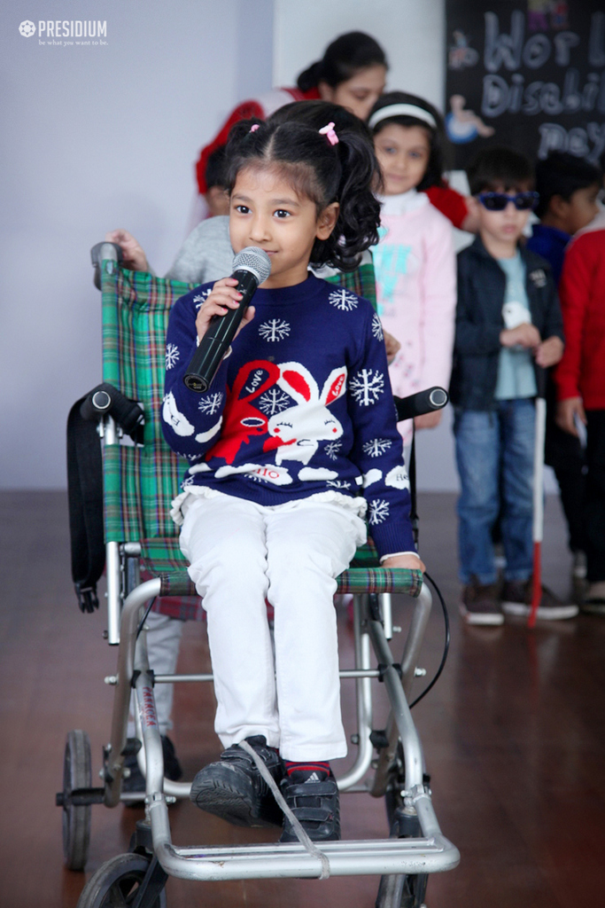 PRESIDIANS RAISE AWARENESS FOR DISABILITY ON WORLD DISABILITY DAY