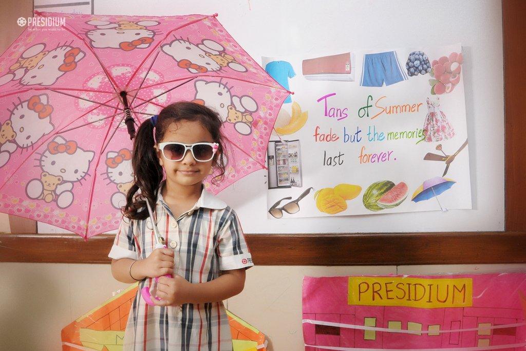 Presidium School, summer and rainy seasons