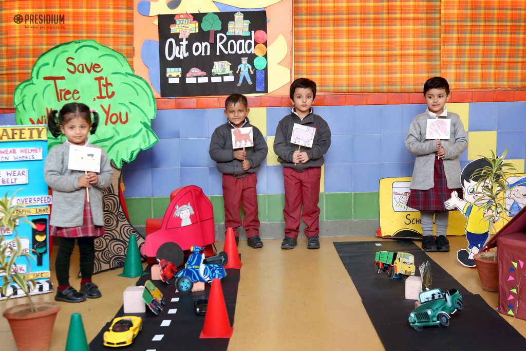 STUDENTS COMPREHEND ROAD SAFETY MEASURES THROUGH ACTIVITIES