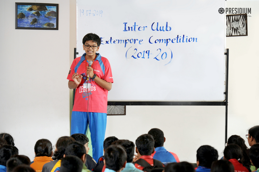 INTER-CLUB DEBATE COMPETITION 2019