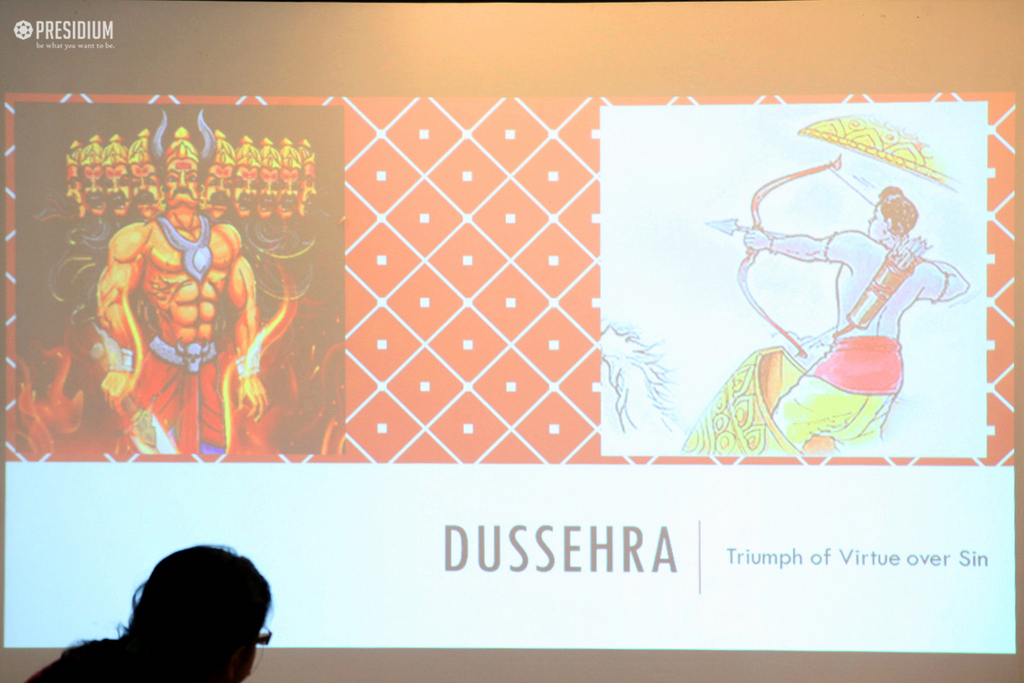 Dussehra SPECIAL ASSEMBLY