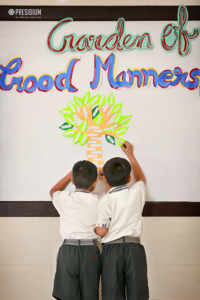 Good Manners Activity 2019