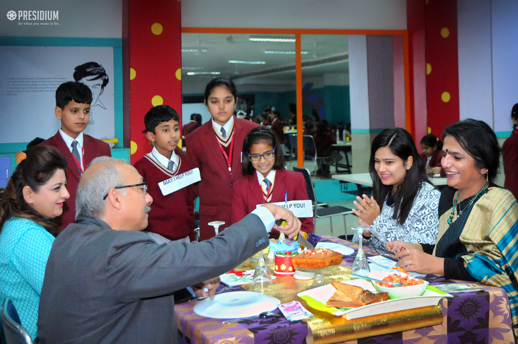 PBL: PRESIDIANS LEARN ABOUT 'RESTAURANT' WITH A HANDS ON ACTIVITY 2019