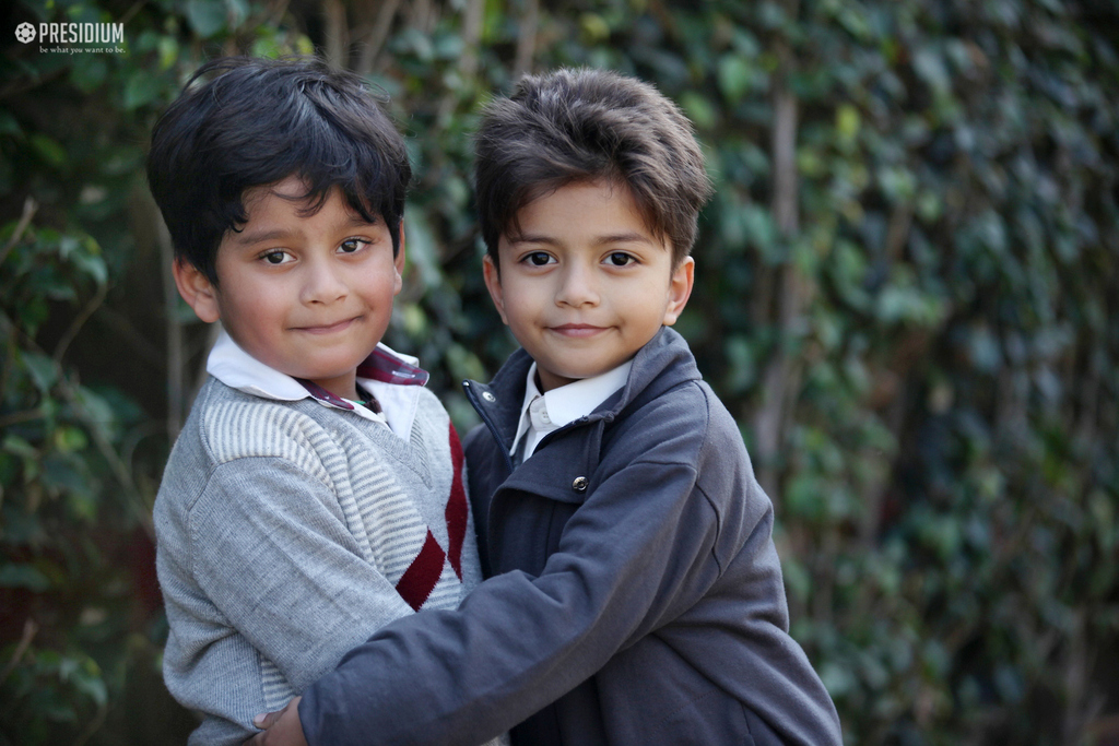 HUG DAY: ALL THEY NEED IS A HUG & A SMILE IN EVERY LITTLE WHILE!