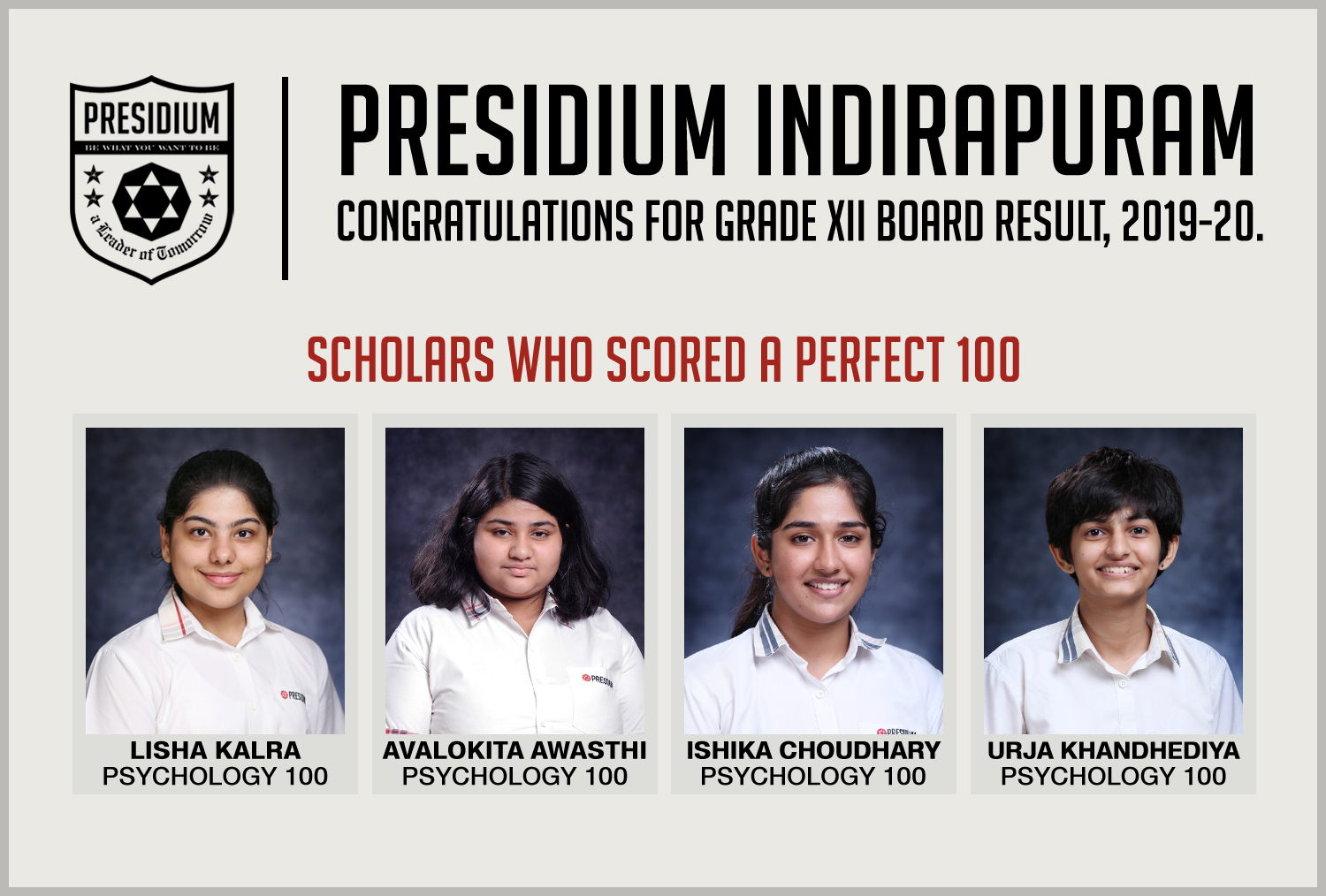 CLASS 12TH DELIVER OUTSTANDING RESULTS IN BOARDS