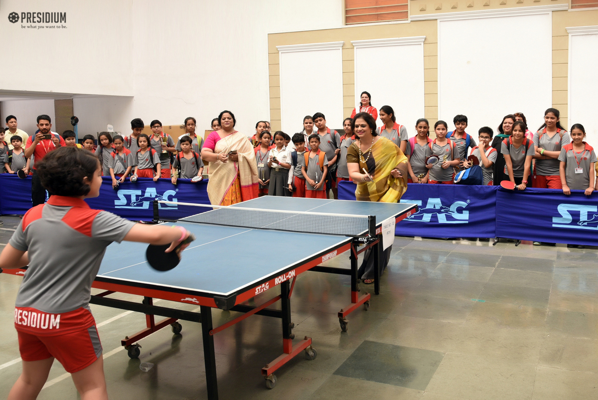 PRESIDIUM TABLE TENNIS