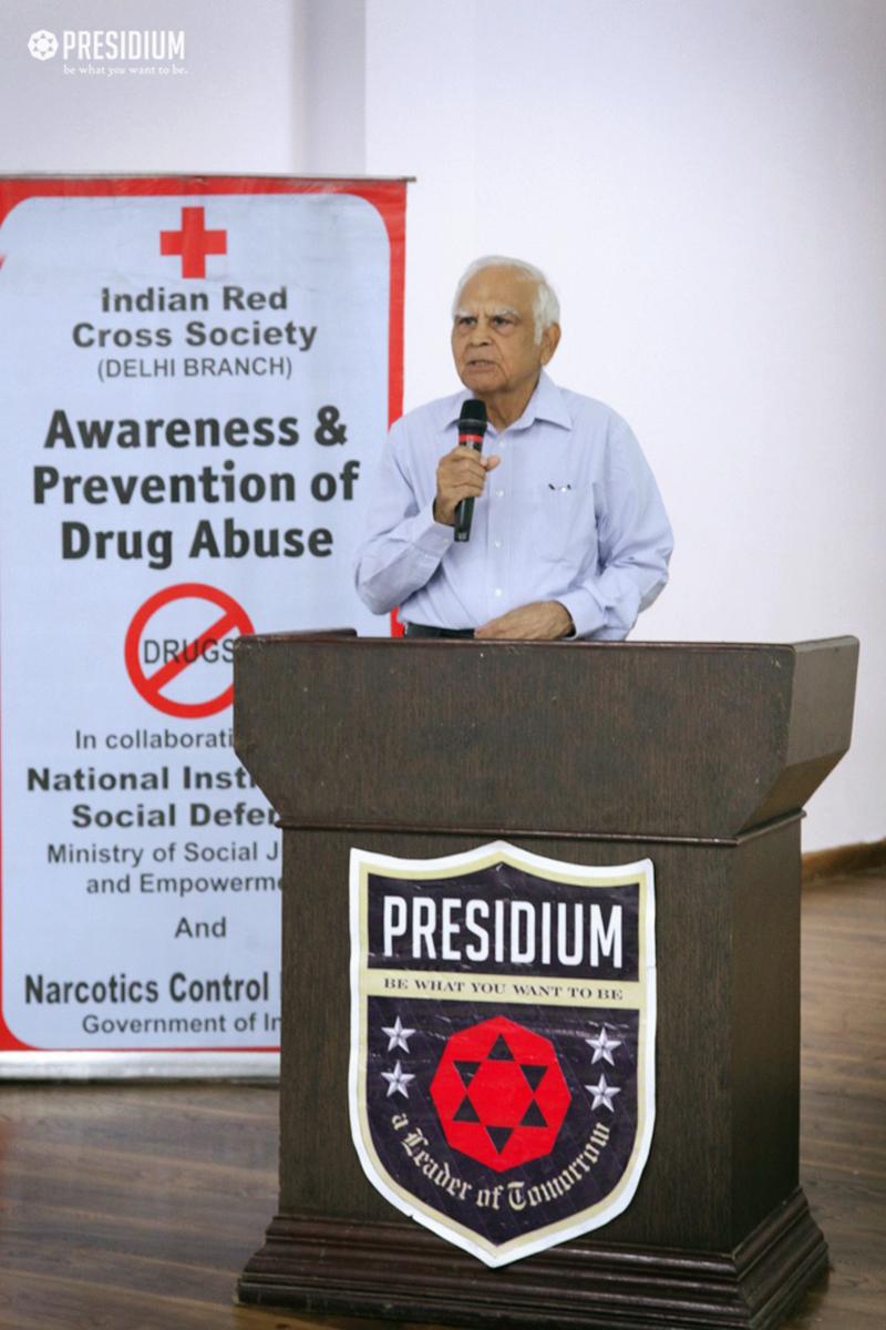 SEMINAR ON AWARENESS & PREVENTION OF DRUG ABUSE AWAKENS STUDENTS