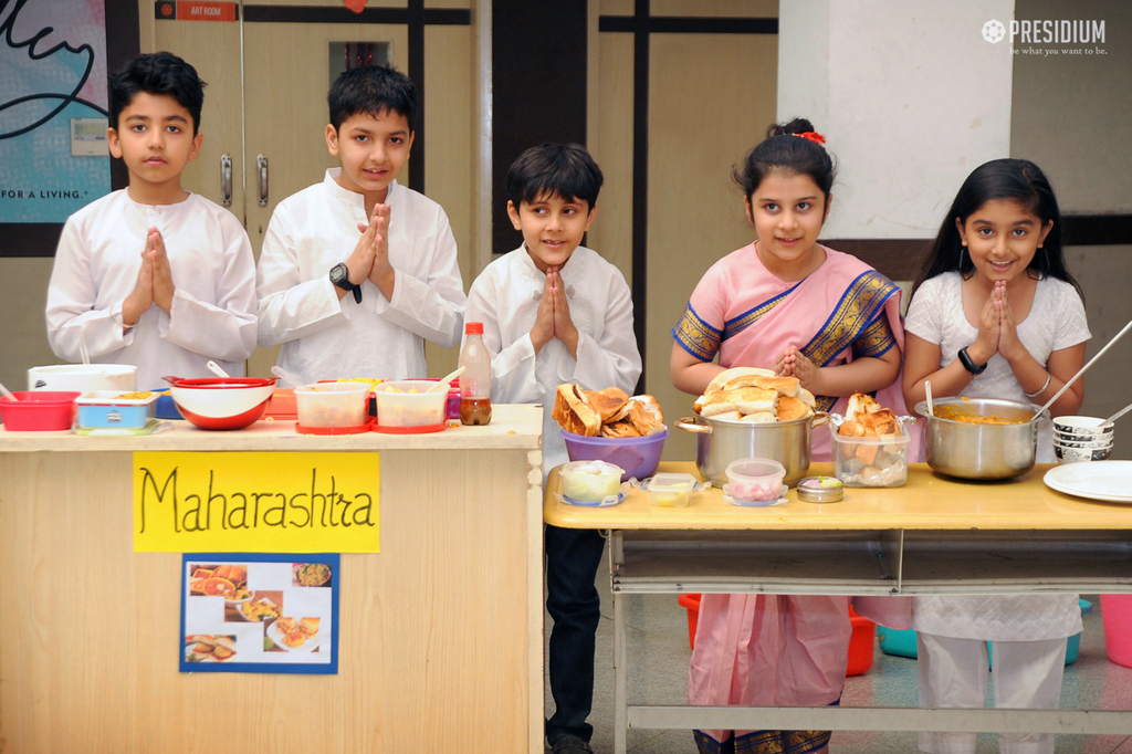 PRESIDIANS SAVOUR THE DIVERSE DELICACIES OF INDIA AT FOOD FAIR 2019