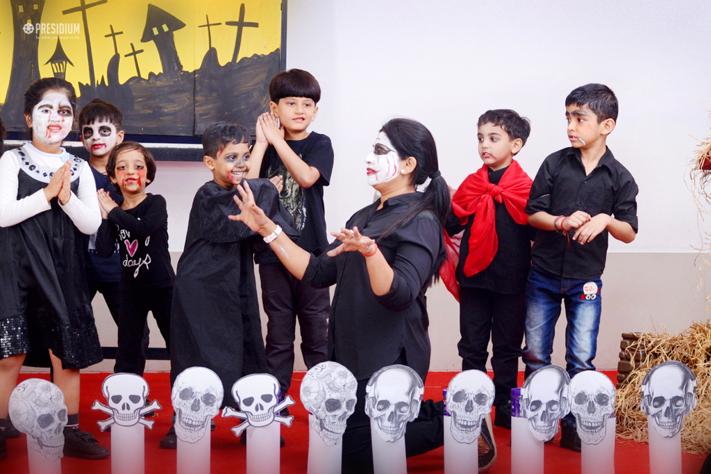 PRESIDIANS TASTE THE FOREIGN FLAVOUR OF HALLOWEEN AT PRESIDIUM
